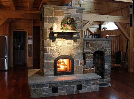 Masonry heaters – big structures, big heat, big art!